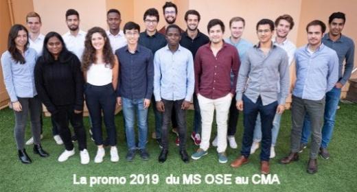 La promo 2019 au CMA