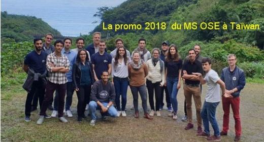 La promotion 2018 en voyage d'étude à Taïwan